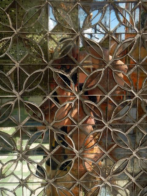Mirrored Wall in Kuthodaw Pagoda in Mandalay