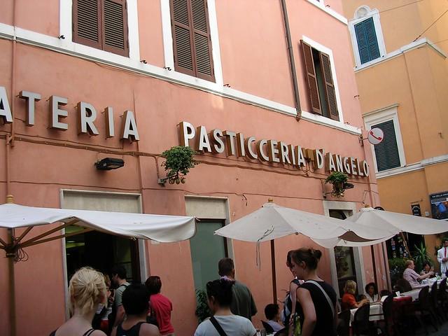 D'Angelo restaurant in Rome