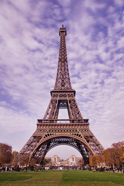 Eiffel Tower Portrait 2