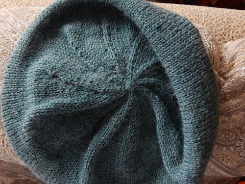 шапка убавления спиралькой