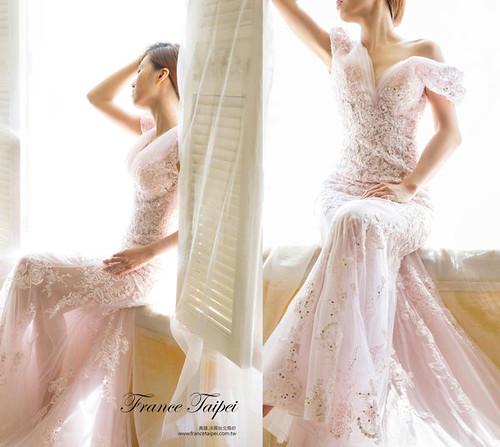 高雄婚紗推薦_高雄法國台北_婚紗禮服_獨家設計款婚紗_裸紗_蕾絲 (1)