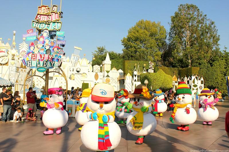 Desfile de Navidad en Disneyland