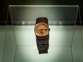 Watch in the Hiroshima Peace Memorial Museum