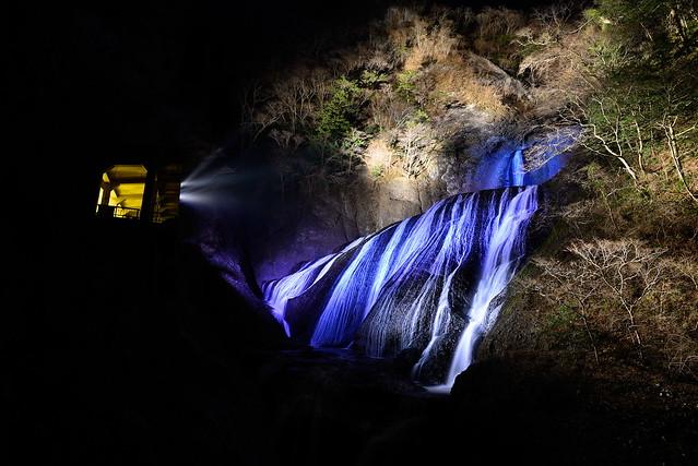 袋田の滝2014イルミネーション