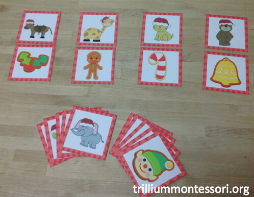 Matching Beginning Sounds (Photo from Trillium Montessori)