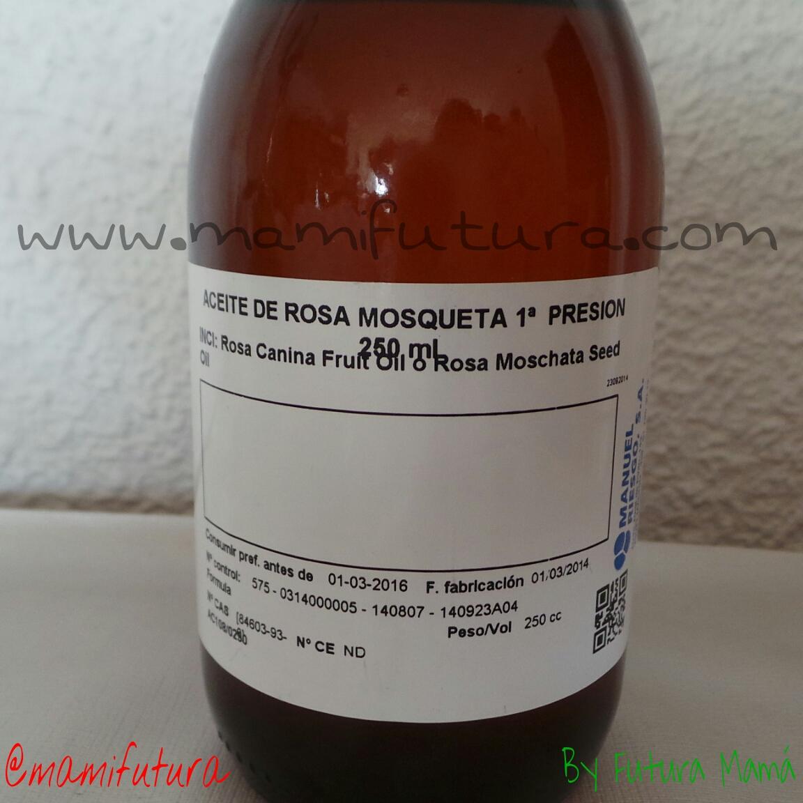 Aceites de Rosa Mosqueta