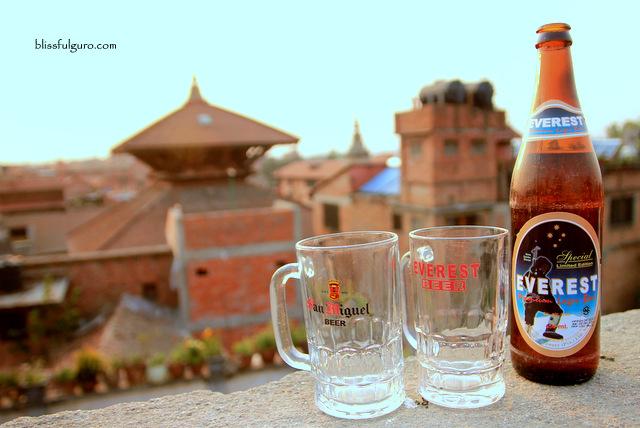 Bhaktapur Nepal Everest Beer
