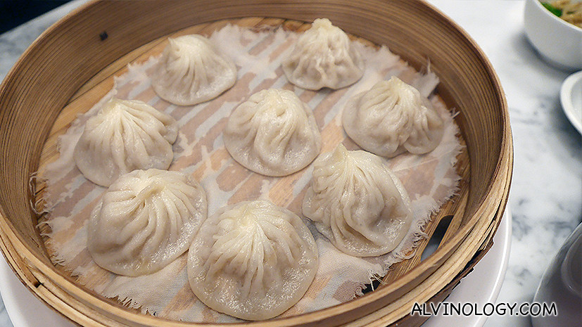 Singapore-brand Xiao Long Bao from Jing Hua Restaurant