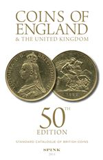 Coins of England 50th edition