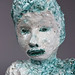 Elise Siegel_MajolicaandPortraitBust_2011_ceramic_glass_18X12X18inches
