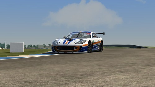 Ginetta G55 Assetto Corsa Fox Motorsport British GT 2014