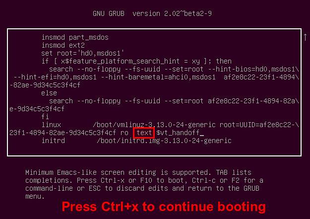How to boot into command line on Ubuntu or Debian - Ask Xmodulo