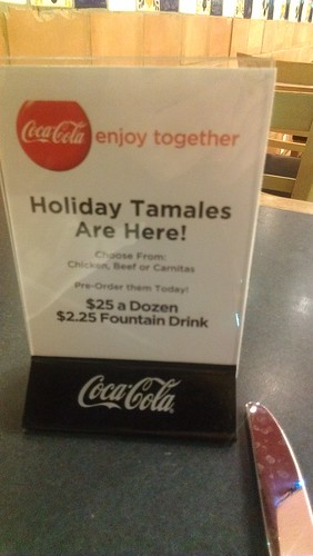 Holiday Tamale Table Sign