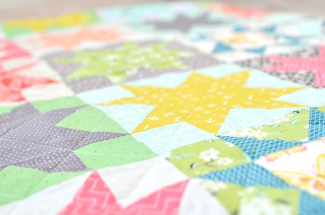 winged twin quilt