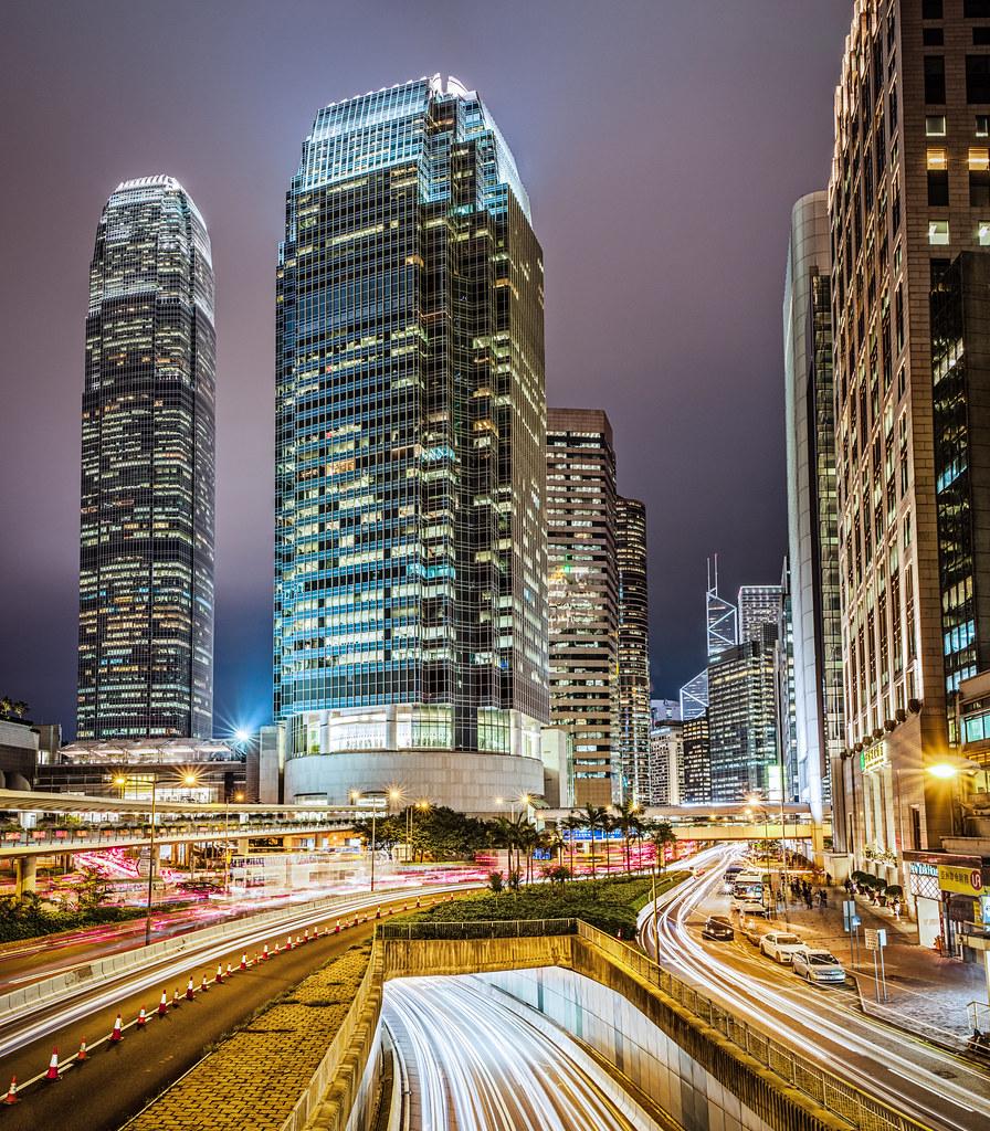 Hong Kong: Elevation Of Hong Kong Island, Hong Kong