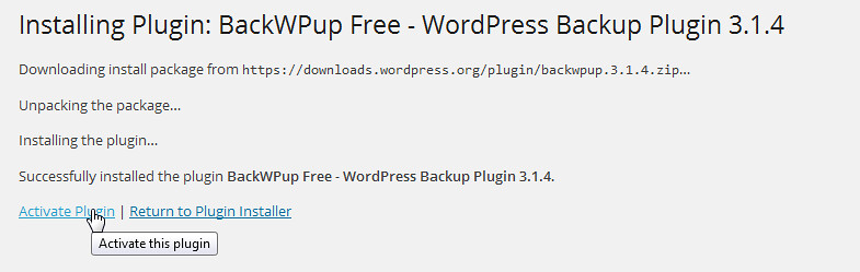 wordpress backup 4
