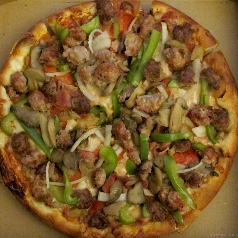 Pitta Gourmet Special Pizza
