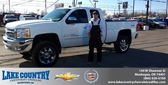 #HappyBirthday to Jeremy Renslow from Kimberly Folkner at Lake Country Chevrolet Cadillac!