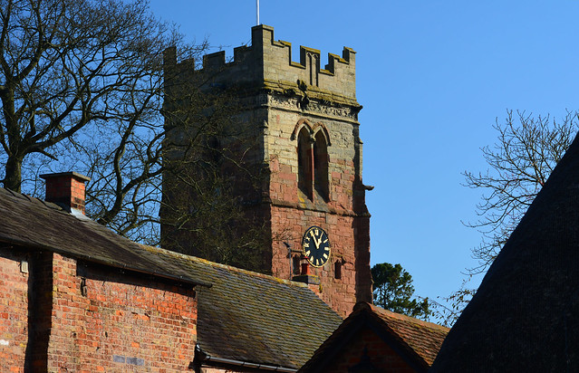 20140309-20_Dunchurch Roofs + St Peter's Church Tower