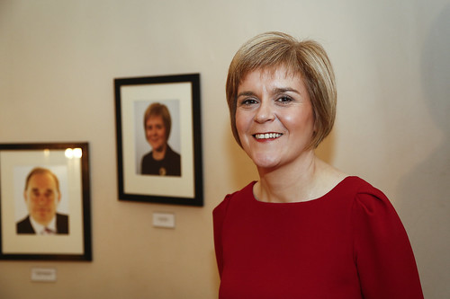 Nicola Sturgeon, First Minister in Bute House