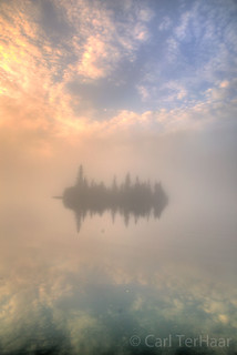 Floating in the Fog