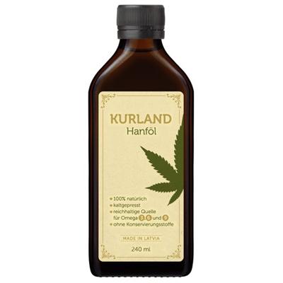 Kurland Hanföl 240ml bottle