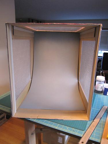 My shooting box - inside