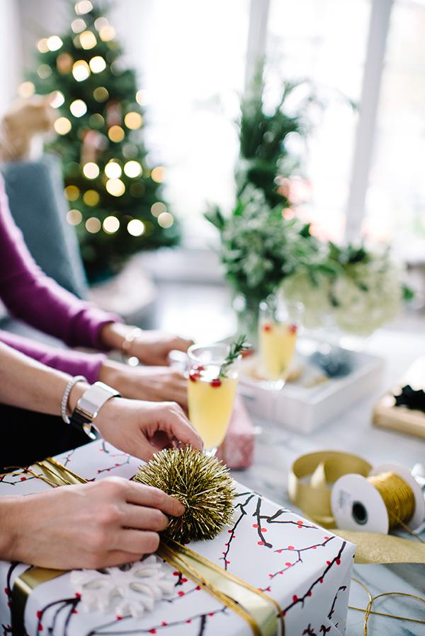 eatsleepwear, ecco-domani, prosecco, gift-wrap, holiday, 2