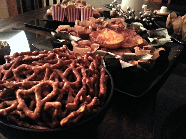 Christmas Party Food Buffet