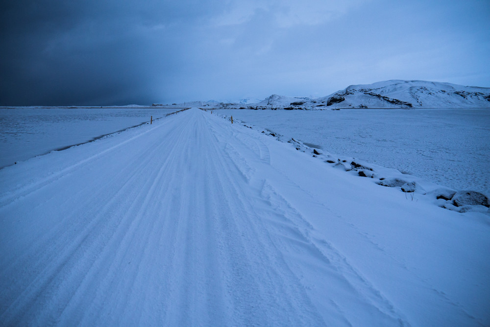 Road of Snow