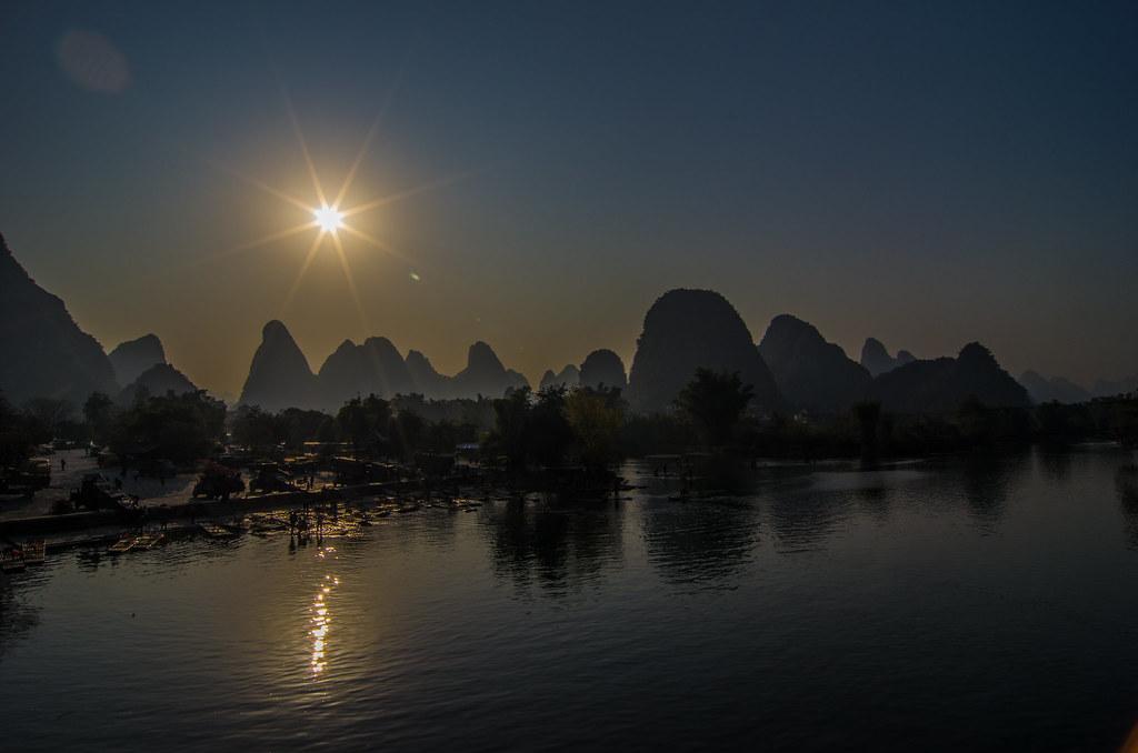 桂林山水甲天下 陽朔山水甲桂林