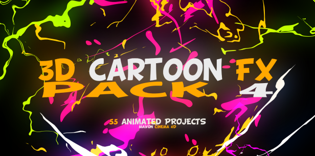 3D Cartoon FX Pack 4