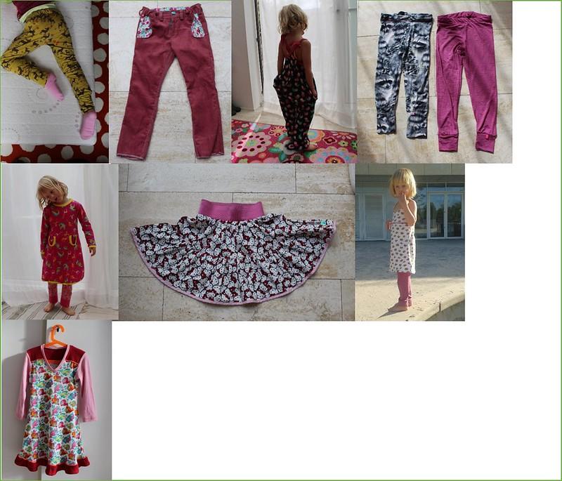 Meisjeskleding - nieuwe stofjes