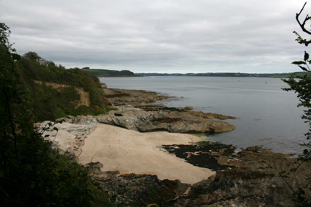 Beach at Pendennis Point, Falmouth