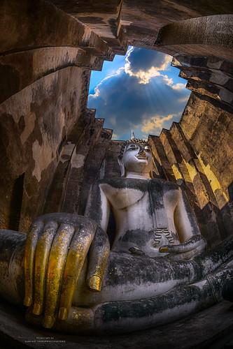 Wat Srichum, Sukhothai, Thailand