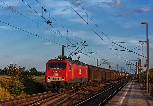 railroad germany meg railway trains bahn mau lew germania 801 freighttrain ferrovia treni aeg sachsenanhalt br156 guterzuge br252 nikond7100