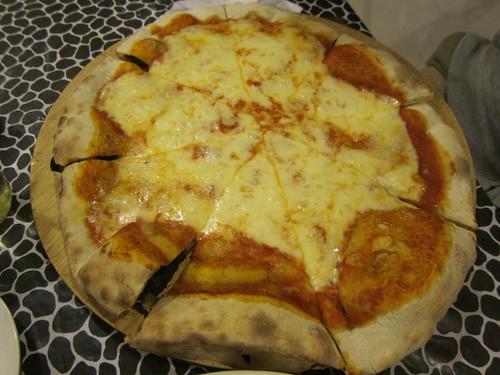 Fabulous Italian pizza at La Orisha in Ayampe