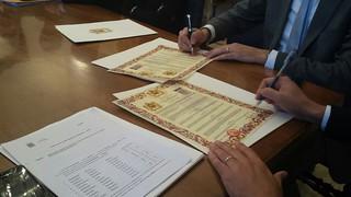 protocollo firmato intesa andria marocco abbinante