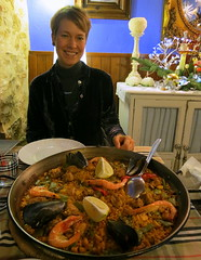 meal, dinner, lunch, supper, paella, food, dish, cuisine,