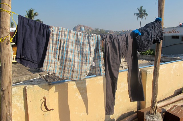 India - Hampi - Laundry