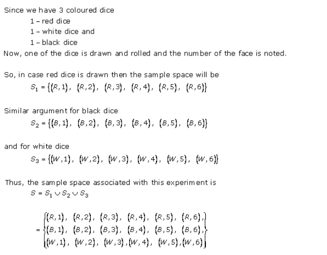 Online RD-Sharma-class-11 Solutions-Chapter-33-Probability-Ex-33.1-Q-19