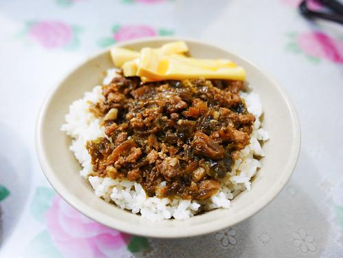苗栗 竹南–經典的梅干魯肉飯–金典小吃