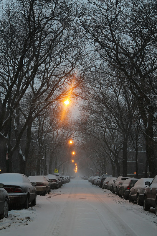 Street on a Snowy Afternoon
