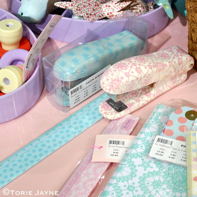 Pastel stationery from Rice DK @Top Drawer