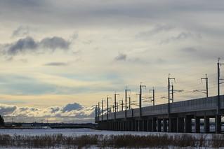 北海道新幹線 高架橋