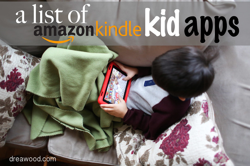 List of Amazon Kindle Apps for Kids