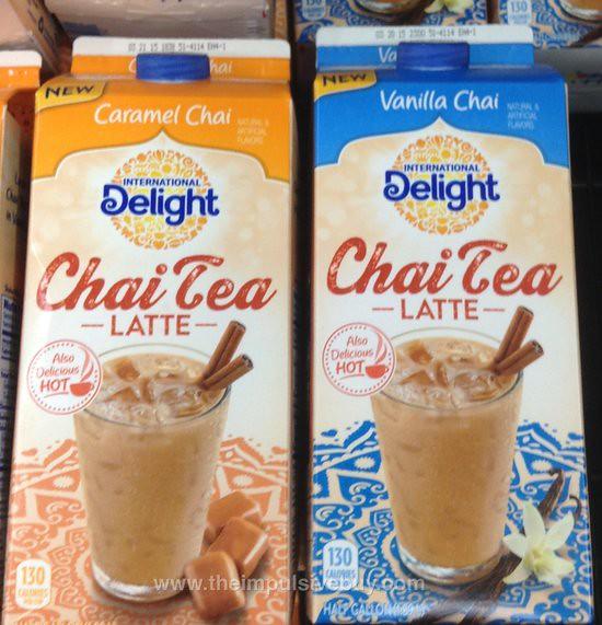 Spotted On Shelves International Delight Chai Tea Latte