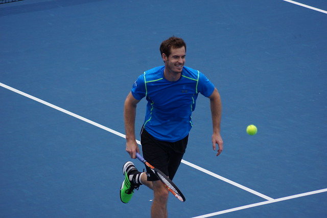Andy Murray - smiling