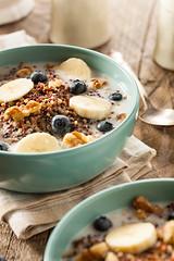 Organic Breakfast Quinoa with Nuts
