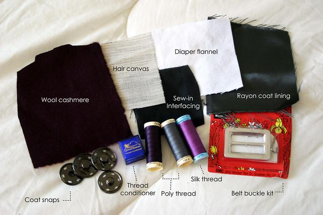 Yona coat supplies
